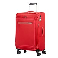 American Tourister Airbeat Spinner 68 EXP Pure Red - Suitcase with TSA-Approved Lock