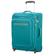 American Tourister Airbeat Upright 55 EXP Sky Blue - Suitcase with TSA-Approved Lock