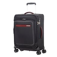 American Tourister Airbeat Spinner 55 EXP Universe Black - Suitcase with TSA-Approved Lock