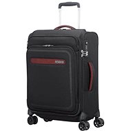 American Tourister Airbeat Smart Spinner 55 Universe Black - Suitcase with TSA-Approved Lock