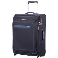 American Tourister Airbeat Upright 55 EXP True Navy - Suitcase with TSA-Approved Lock