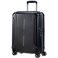American Tourister Technique Spinner 55 Diamond Black - Suitcase with TSA-Approved Lock
