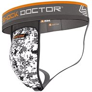 Shock Doctor Supporter with AirCore Soft Cup 234, White XXL - protectors