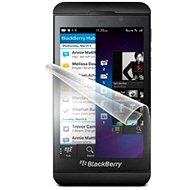 ScreenShield for the Blackberry Z10 on the phone display - Screen protector