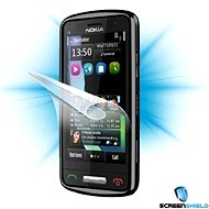 ScreenShield for Nokia C6-01 on phone screen - Screen protector