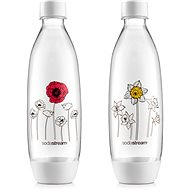SodaStream Bottle Flowers in Winter, FUSE 2 x 1l - Replacement Bottle