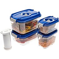 STATUS 5 piece set bag boxes Blue - Vacuum Sealer