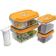 STATUS 5 piece set bag boxes Orange - Set