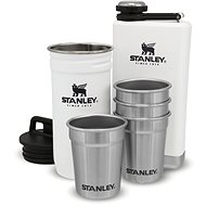 STANLEY ADVENTURE SERIES Gift Set Thermos Flask, Hip Flask and 4 Shot Glasses, Polar White - Thermos