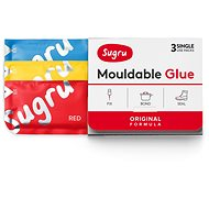 Sugru Mouldable Glue 3 pack - red, blue, yellow - Glue