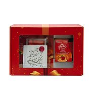 Christmas Package GLADE Discreet Electric Jelly / Cinnamon + Candle Apple / Cinnamon 120 g 1 + 8g / 12 - Gift Set
