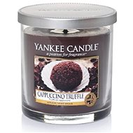 YANKEE CANDLE Small Décor Pillar Cappuccino Truffle - Candle
