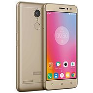 Lenovo K6 Single SIM LTE Gold - Mobile Phone