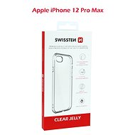 Swissten Clear Jelly Mobile Case for Apple iPhone 12 Pro Max - Mobile Case
