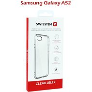 Swissten Clear Jelly for Samsung Galaxy A52 Transparent - Mobile Case