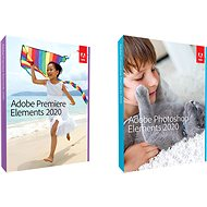 Adobe Photoshop Elements + Premiere Elements 2020 ENG Student & Teacher WIN/MAC (BOX) - Software