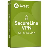 Avast SecureLine VPN Multi-device for 5 devices for 12 months (electronic license) - E-license