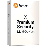 Avast Premium Security Multi-device (up to 10 devices) for 12 Months (Electronic License) - Antivirus