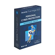 Acronis True Image 2021 Advanced Protection for 5 PCs for 1 year + 250GB Acronis Cloud Storage (Electronic License) - Backup Software