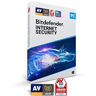 Bitdefender Internet Security 1 Month Subscription (Electronic Licence) - Internet Security