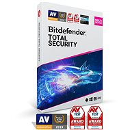 Bitdefender Total Security 1 Month Subscription (Electronic Licence) - Internet Security