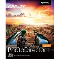 CyberLink PhotoDirector 11 Ultra (Electronic Licence) - Video Software