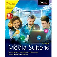 Cyberlink Media Suite 16 Ultra (Electronic License) - Office Software