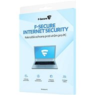 F-Secure INTERNET SECURITY for 3 devices per year (electronic license) - Electronic licenses