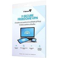 F-Secure FREEDOME for 1 device for 2 years (electronic license) - Internet Security