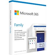 Microsoft 365 Family EN (BOX) - Office Software