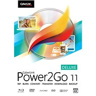 Cyberlink Power2GO Deluxe 11 (Electronic License) - Electronic license