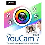 Cyberlink YouCam 7 Deluxe (Electronic License) - Electronic license