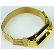 SXT Mi Band 3 Metal Bracelet (M-lock) Gold - Watch band