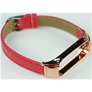 SXT Mi Band 3 Leatherette Bracelet Red - Watch band