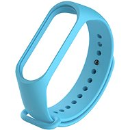 STX Mi Band 3/4 Silicone, Light blue - Watch band