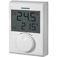 Siemens RDH100 Digital Room Thermostat With Control Wheel, Wired - Thermostat