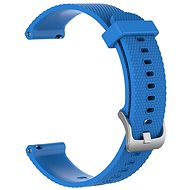 Tactical Silicone Strap for Vivoactive 4S 18mm Blue - Watch band