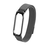 Tactical Loop Magnetic Metal Strap for Xiaomi Mi Band 5/6 Black - Watch band