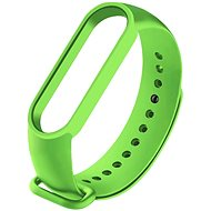 Tactical Silicone Strap for Xiaomi Mi Band 5/6 Green - Watch band