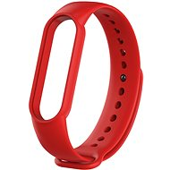 Tactical Silicone Strap for Xiaomi Mi Band 5/6 Red - Watch band