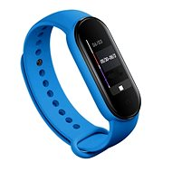 Tactical Silicone Strap for Xiaomi Mi Band 5/6 Blue - Watch band