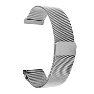 Tactical Loop Magnetic Metal Strap 20mm Silver - Watch band