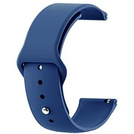 Tactical Silicone Strap 20mm Dark Blue