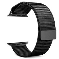 Tactical Loop Magnetic Metal Strap for iWatch 1/2/3, 38mm, Black (EU Blister) - Watch band