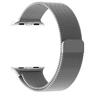 Tactical Loop Magnetic Metal Strap for Apple Watch 4 44mm Silver - Watch band