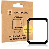 Tactical Glass Shield 5D Glass for Apple Watch 4/5/6/SE 44mm Black - Glass protector
