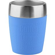 Thermal Mug Tefal Travel Mug 0.2l TRAVEL CUP Stainless/Blue - Termohrnek