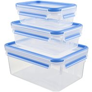 Tefal Doses 3pcs: 0.55l/1.0l/2.3l MASTERSEAL rectangular - Food Container Set