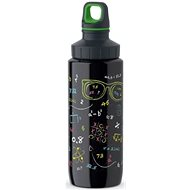 TEFAL DRINK2GO Stainless Steel Bottle 0.6l Black-decorated - Láhev na pití