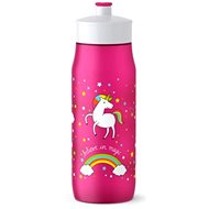 TEFAL SQUEEZE soft bottle 0.6l pink-unicorn - Drink bottle